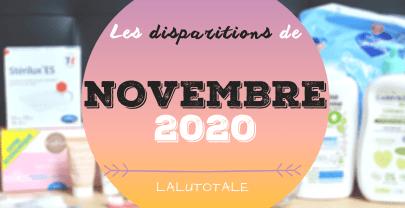 ✞ Les disparitions dans ma salle de bains en Novembre 2020 ✞