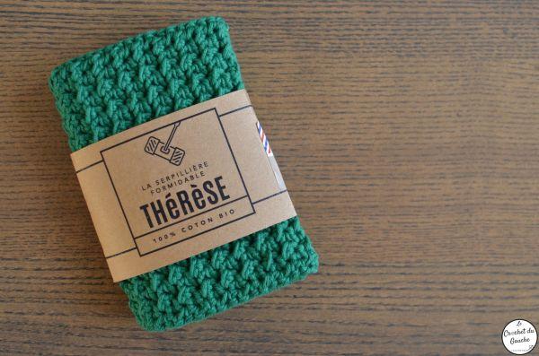 thérèse coton bio serpillière lavable crochet
