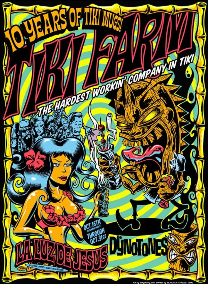 """Black-light poster (Signed, Ltd. Ed. 1/150) 18"""" X 25"""" $25.00 each"""