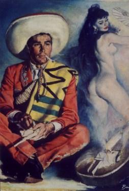 """by John Houghton Allen (1952) Oil on board 21.25"""" x 27.5"""" in 28.5"""" x 32.25"""" frame $4,000.00"""