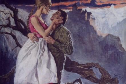 "by Helen MacInnes (1970) Oil on canvas paper 20.5"" x 15.25"" (plus frame) $2,500.00"