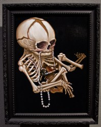 """Acrylic on wood 9"""" x 12"""" in 11.5"""" x 14"""" frame $840.00 Sold"""