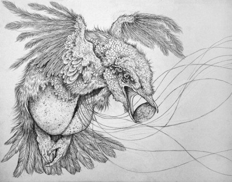 """Pencil on paper 12"""" x 9"""" in 17.75"""" x 15.25"""" frame $225.00 Sold"""