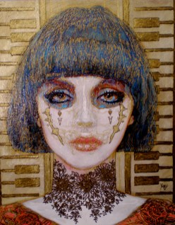 """Acrylic on canvas 16""""x 20"""" $2,000.00"""
