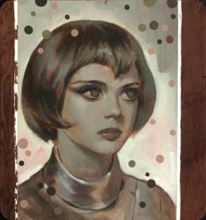 """Acrylic on wood 28.25"""" x 30.25"""" $5,500.00"""