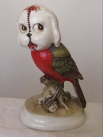 """Porcelain and epoxy 5.75"""" x 3.5"""" x 2.5"""" $220.00 Sold"""