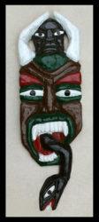 Herbert Singleton - Two-horned Mask, c. 1990s