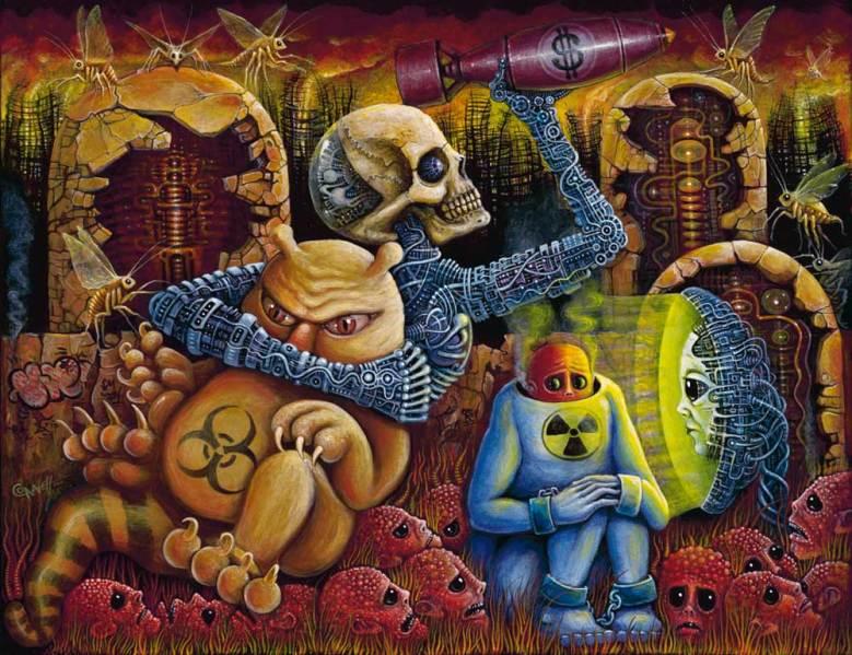 "Acrylic on canvas 14"" x 18"" in 20"" x 24"" frame $4,000.00"