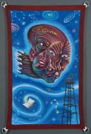 """Acrylic on canvas banner 24"""" x 36"""" $2,000.00"""