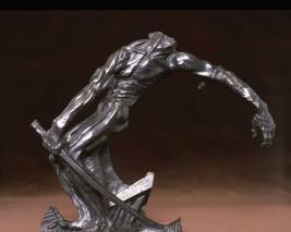 """Bronze, second casting, 1916 Foundry Proof (3/3) from a complete edition of 12 casts (numbered edition 1-9) 18"""" x 16"""" x 6"""" $16,000.00"""