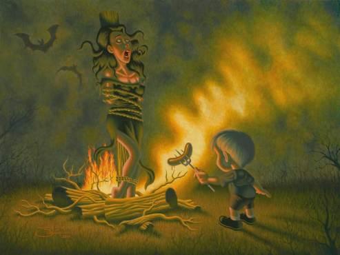 "Oil on canvas 24"" x 18"" $5,000.00"