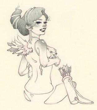 Danni Shinya Luo - Archer Angel