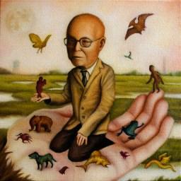Michael Ramstead - Chonosuke OkamuraOil on canvas, $400