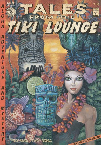 "Brad ""Tiki Shark"" Parker - Tales From the Tiki Lounge No. 4 (Zombie Tiki Girl)"