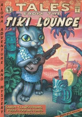 """Brad """"Tiki Shark"""" Parker - Tales From the Tiki Lounge No. 1 (Tiki Cat)"""