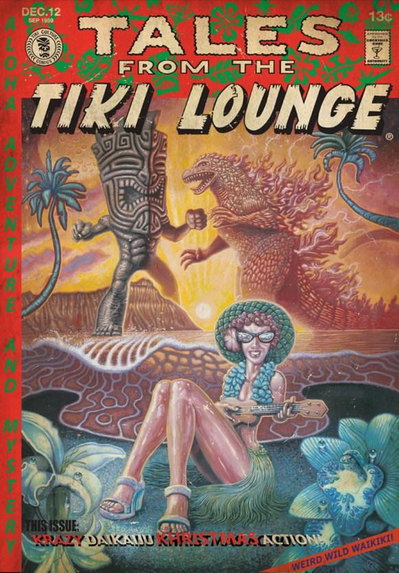 "Brad ""Tiki Shark"" Parker - Tales From the Tiki Lounge No. 12 (Big Tiki Vs. Godzilla)"