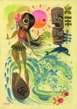 Miles Thompson - La La: or the Bather