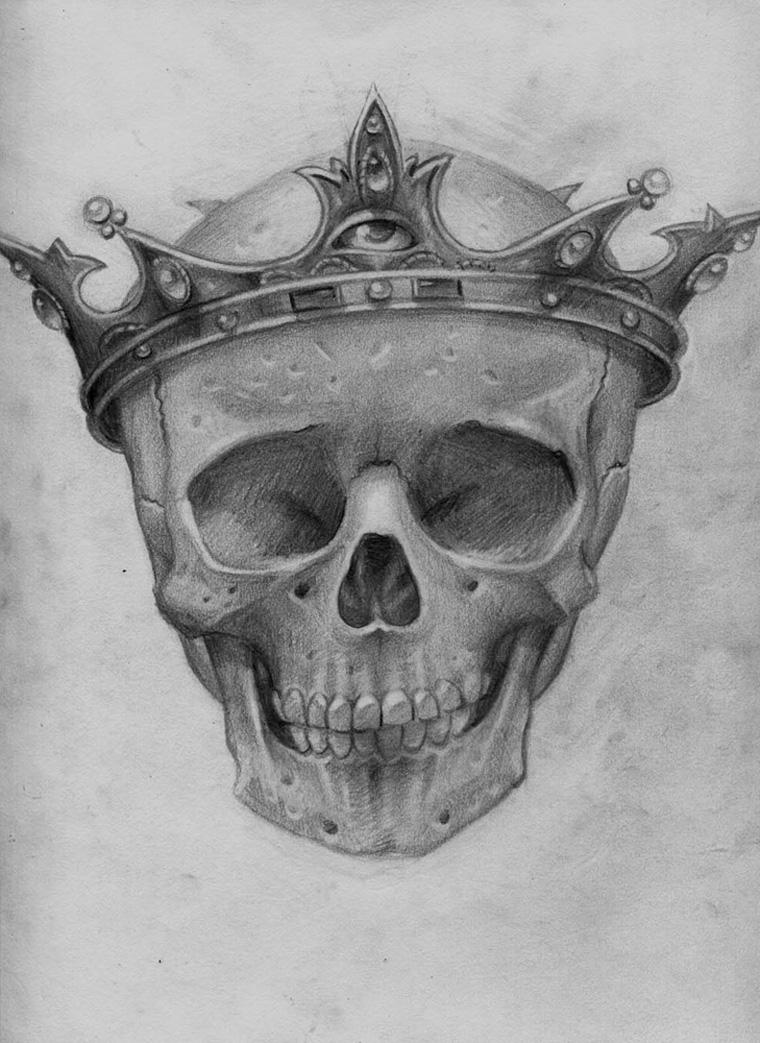 Steven Daily - Child King (study)