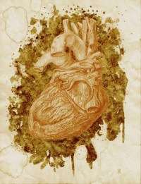 Scott Holloway - Sacred Heart (drawing)