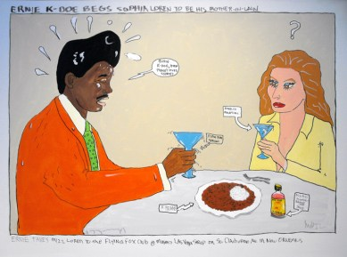 Hudson Marquez - Ernie K-Doe Begs Sophia Loren