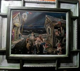 15.5 x 12 in. / 22.5 x 19.5 in. framed, Oil on masonite $600.00 Sold