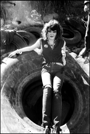 Ruby Ray - Exene at Tire Beach