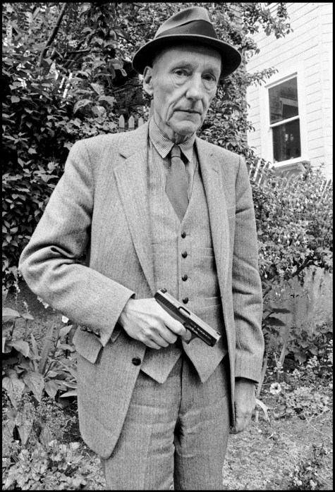 Ruby Ray - William S. Burroughs in a San Francisco Garden