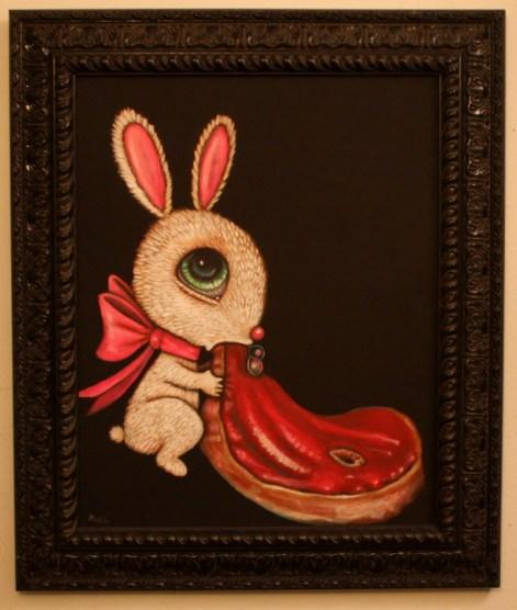 16 x 20 in. (41 x 51cm) / 21.5 x 25.5 in. framed (55 x 65cm framed) Acrylic on canvas $850