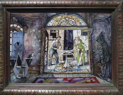 16.25 x 12 in. / 19.25 x 15 in. framed, Oil on masonite $975.00