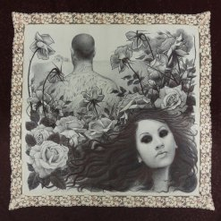 16 x 16 in. Ballpoint on fine handkerchief $800.00