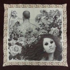 16 x 16 in. Ballpoint on fine handkerchief $800.00