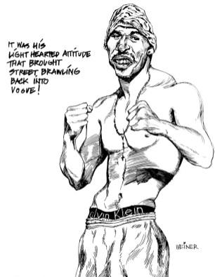 Mel Weiner, Street Fighter