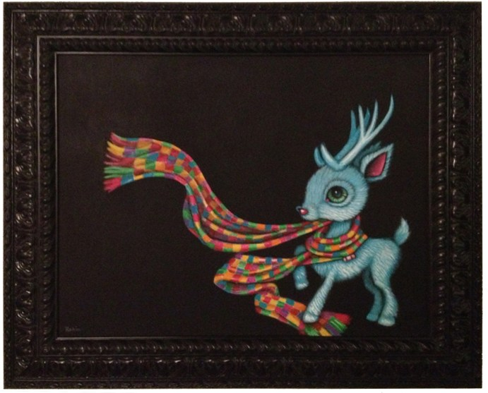 16 x 20 in. (41 x 51 cm) / 21.5 x 25.5 in. framed (55 x 65 cm framed) Acrylic on canvas $850.00