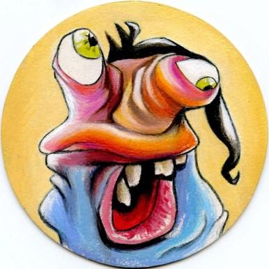 Acrylic, Color Pencil, $200.00 (set)