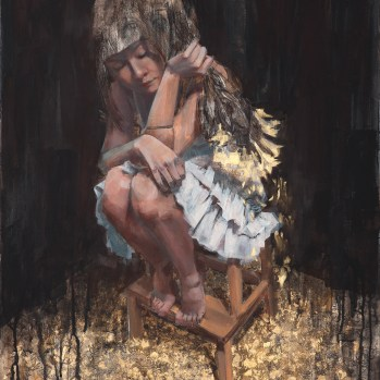 "18"" x 24"" Oil on wood panel $2200.00 Sold"