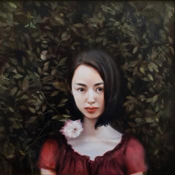 Oil on wood panel, 16 x 16 in. (19.25 x 19.25 in. framed) $2800.00