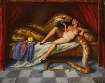 Oil on canvas, 30 x 37 in. (plus frame) $2,500.00
