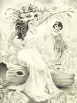 Graphite on Archival Paper, 9 x 12 in. (plus frame) $375.00