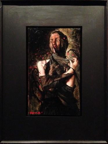 Oil on panel, 11 x 14 in. (in 16 x 20 in. custom frame) $4,400.00