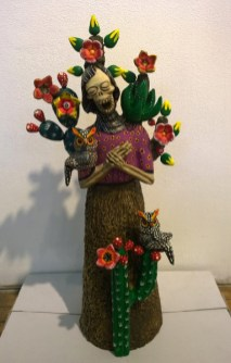 Sculpted and painted clay, 6 x 19.25 x 6 in. $450.00 Sold