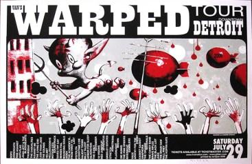 Glenn Barr - Warped Tour Detroit