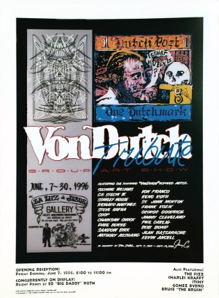 Von Dutch - Tribute PosterGlossy poster, 18 x 24.5 in. $15