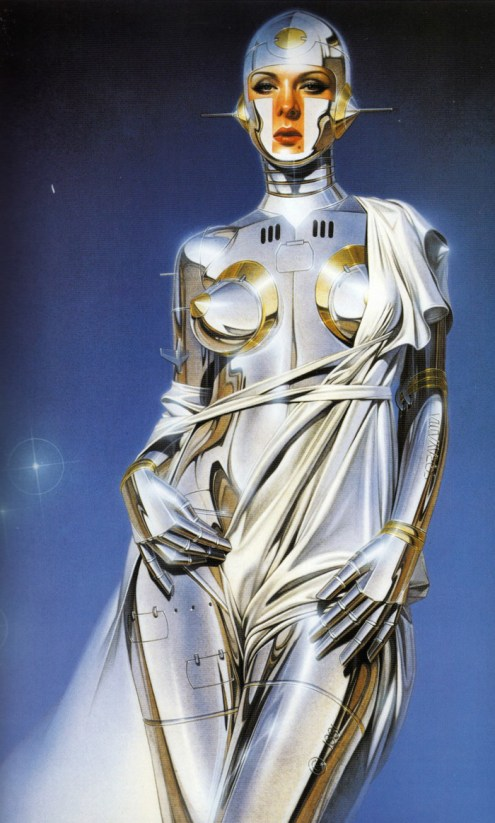 Hajime Sorayama - Sexy RobotPoster, 17 x 24 in. $20