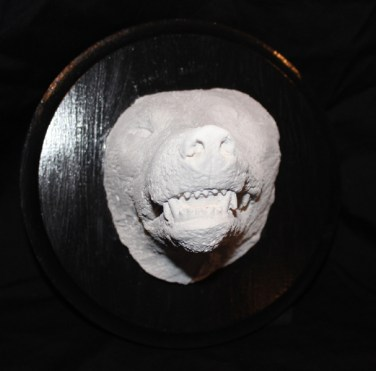 plaster casting, 8 x 8 x 7 in. $150.00 Sold