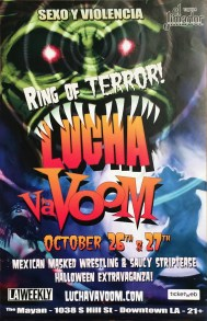 Lucha Va Voom - Ring of TerrorLightweight poster, 11 x 17 in. $15