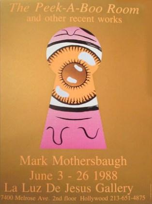 Mark Mothersbaugh - Peek-A-Boo RoomHigh gloss poster, 18 x 24 in. $50.00