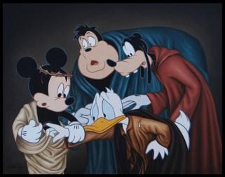 José Rodolfo Loaiza Ontiveros - The Incredulity of Saint Donald (Caravaggio Tribute)