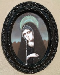 Oil on mounted canvas, 5 x 7 in. oval, (9 x 7 in. framed) $500 Sold
