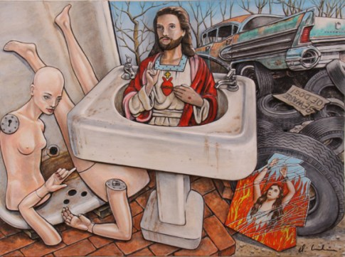 Dennis Larkins - Sink Jesus