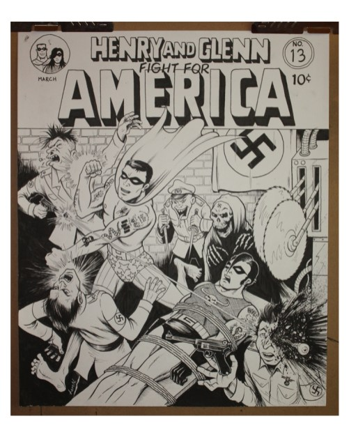 Tom Neely - Henry & Glenn - Fight for America